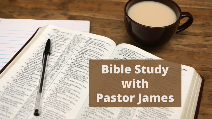 Adult Education with Pastor James